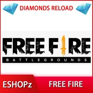 Free Fire Diamond Direct Topup - (For Malaysia Player)
