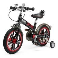 【Mini Cooper】城市型兒童自行車/腳踏車14吋(閃電藍)