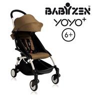 法國 BABYZEN YOYO plus/YOYO+ 6m+嬰兒手推車(白骨架) 太妃糖