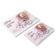 XILEYW 2 Painting Exercise Books Color Pencil Exercise Books Watercolor Exercise Books Pigment Exercise Books for Drawing