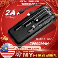 powerbank 50000mah pineng fast charger xiaomi powerbank 10000mah Built In Cable 4 Output Power Bank 20000Mah 2A Fast Cha