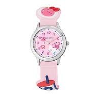 HELLO KITTY 凱蒂貓 45週年限定造型紀念手錶-粉紅/30mm