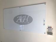 亞瑟 玻璃白板 磁性玻璃 木框玻璃白板 活動式玻璃白板 另送(鋁製筆槽or玻璃筆槽or壓克力筆架)