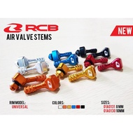 Racing Boy Air Valve Tubeless Head Stem Universal Screen Enter Wind Head Rcb Multi Color Mouth