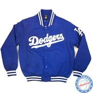 【@newone】MLB LA 道奇隊 創信 冬季 爆款 排扣 防風 棒球夾克 教練外套
