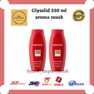 Glysolid Body Lotion 250 ml With Spf 15 Saudi Musk Original Imports
