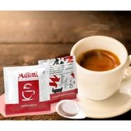 Caffe Musetti 15 pcs Easy Serve Espresso (ESE) pods Mio Espresso Rossa 44 mm 60% Arabica Coffee Pods
