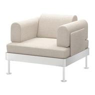 DELAKTIG 扶手椅, gunnared 米色