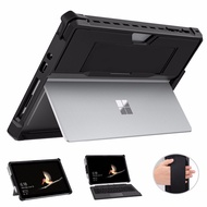 """MoKo Case for Surface Go 2 2020 / Surface Go 10"""" 2018, All-in-One Protective Rugged Cover Case with Pen Holder, Hand Strap"""