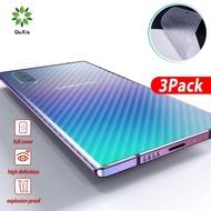 3 ชิ้นฟิล์มสติ๊กเกอร์คาร์บอนไฟเบอร์สำหรับ Samsung Galaxy Note 10 note10 บวกกลับป้องกันสำหรับ Samsung note9 8 S10 บวก S10 S9 S9 บวก S8 S8 บวกกลับสติ๊กเกอร์