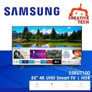 Samsung 55-inch Samsung 55-inch 55RU7100 4K Smart UHD TV 55RU7100 4K Smart UHD TV 55RU7100