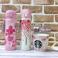 現貨3💟日本代購 星巴克 櫻花 陶瓷 馬克杯 保溫壺 保溫瓶 保溫杯 保溫保冷