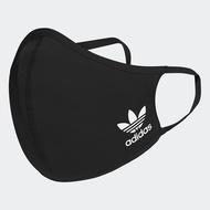 【滿額最高折318】Adidas Face Covers  口罩 (三入)  黑【運動世界】HB7851