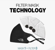 The North Face - 韓國熱賣口罩THE NORTH FACE filter mask