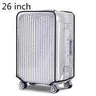 "Universal 20 ""/22""/24 ""/26""/28 ""/30"" โปร่งใสกันน้ำป้องกันกระเป๋าเดินทางกระเป๋าเดินทางกรณีกระเป๋าเดินทางกระเป๋า Cover"