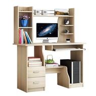 incare 簡約書桌 開放式書架型書桌 110cm 辦公桌 電腦桌 附收納架 免運 廠商直送 現貨