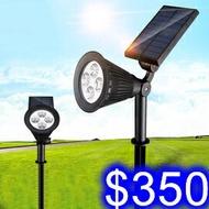 太陽能草坪燈 LED戶外防水庭院景觀燈 插地別墅照明感應燈 蓄電功能免配線免電費