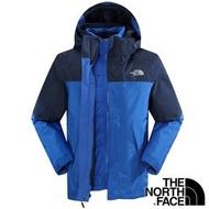 【THE NORTH FACE 美國】男兩件式GT羽絨外套『紅 藍 黑』戶外登山 保暖外套 兩件式外套 GORE-TEX