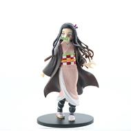 Anime Demon Slayer PVC Action Figures Kamado Tanjirou Agatsuma Zenitsu Kamado Nezuko vnibira Inosuke Shinobu Figure Model Toys