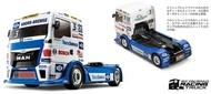 田宮 TAMIYA 58632 TEAM HAHN RACING MAN TGS 1/14 RC 競速拖車頭套件