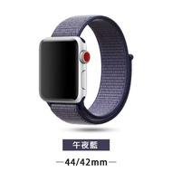 【王者之風】蘋果 手錶 錶帶 尼龍 編織 迴環式 Apple watch 1 / 2 / 3 / 4/ 5代(44mm / 42mm)