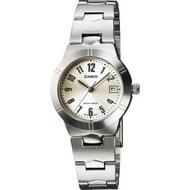 Casio นาฬิกาข้อมือผู้หญิง สายสแตนเลส รุ่น LTP-1241 ของแท้ประกันศูนย์