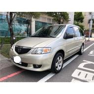 自售2003年馬自達MPV休旅車3.0L大七人座 QRV WISH MAZDA5 IMAX SAVRIN 2.0