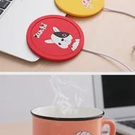 USBการ์ตูนความร้อนMug Matเครื่องทำน้ำอุ่นแก้วCoasterชากาแฟอุ่นอุ่น