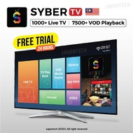 SyberTV / SyberIPTV / SyberTVIPTV Malaysia with FREE TRIAL