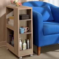 【Asllie】凱莉側邊櫃/隙縫櫃/細縫收納櫃/開放式收納桌