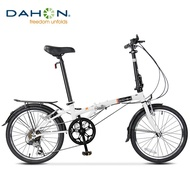 """Dahon Dream D6 Folding Bike,20"""" Steel Frame 6-Speed Shimano Gears Foldable Bicycle for Adults"""