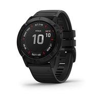 Garmin Fenix 6X Sapphire, Premium Multisport GPS Watch, -Carbon Gray DLC with Black Band- (010-02157