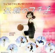 【鋼彈世界】日版 KITAN (轉蛋)日本奧運五輪杯緣子 全6種 整套販售