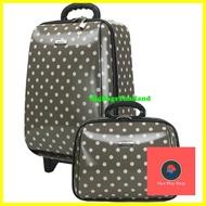 กระเป๋าเดินทาง ร้านแนะนำกระเป๋าเดินทางล้อลาก ขนาด 18 นิ้ว และ 14 นิ้ว รุ่น 7719 (Grey) กระเป๋าจัดระเบียบ