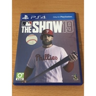 二手 PS4 MLB THE SHOW 19 英文版
