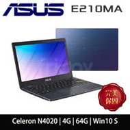 【ASUS華碩】 E210MA-0041BN4020 夢想藍(Celeron N4020/4G/64GB/W10 Home S)