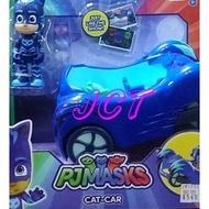 JCT PJ Masks 蒙面睡衣俠─PJ Masks 3吋可動人偶汽車組 CAT-CAR 248290