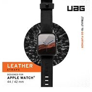 UAG Apple Watch 38/40mMM/42/44mm 皮革錶帶(黑)(棕)