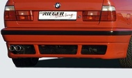 【樂駒】RIEGER BMW 5-series E34 rear skirt extension 後下擾流 後下巴 空力
