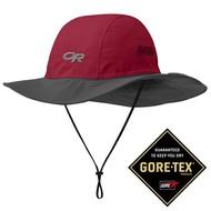 【Outdoor Research 美國】Seattle Sombrero GTX 防水圓盤帽 Gore-Tex 登山帽 防曬帽 遮陽帽 紅杉/深灰 (243505-0916)