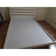 二手雙人床架便宜賣需自取