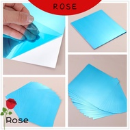 ROSE Adhesive stickers Stickers Acrylic Soft Mirror Mirror DIY Self-adhesive PET Mirror Sticker Ultra-thin Wall Stickers