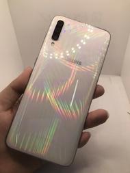 二手機 中古機 Samsung A70 6.7吋 128G  白 手機/安卓A0263 0025