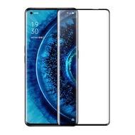 OPPO Find X2/Find X2 Pro 全膠全靜電鋼化膜 滿版全覆蓋觸感靈敏 3D熱彎曲玻璃螢幕保護貼