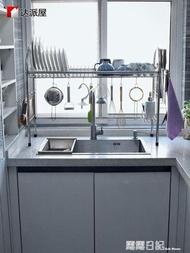 達派屋304不銹鋼碗架水槽洗碗池瀝水架廚房置物架碗柜碗筷收納盒