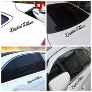 MANIFESTSTORE6RE1 New Auto Decal Reflective Car Accessories Limited Edition Auto-styling Window Car Stickers