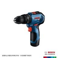 【BOSCH 博世】12V 鋰電免碳刷震動電鑽(GSB 12V-30)