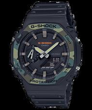 CASIO G-SHOCK GA-2100SU-1A 農家橡樹(迷彩)