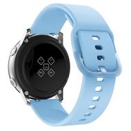 สำหรับSamsung GalaxyนาฬิกาActive 2สายนาฬิกาซิลิโคนสำหรับSamsung Galaxy 3 20มม.นาฬิกาข้อมือสมาร์ทวอชอุปกรณ์เสริม