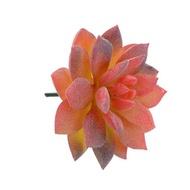 1Pc Diy ไม้อวบน้ำประดิษฐ์พืชสวนขนาดเล็กปลอมสวนเครื่องประดับบ้านดอกไม้ตกแต่งแคคตัส